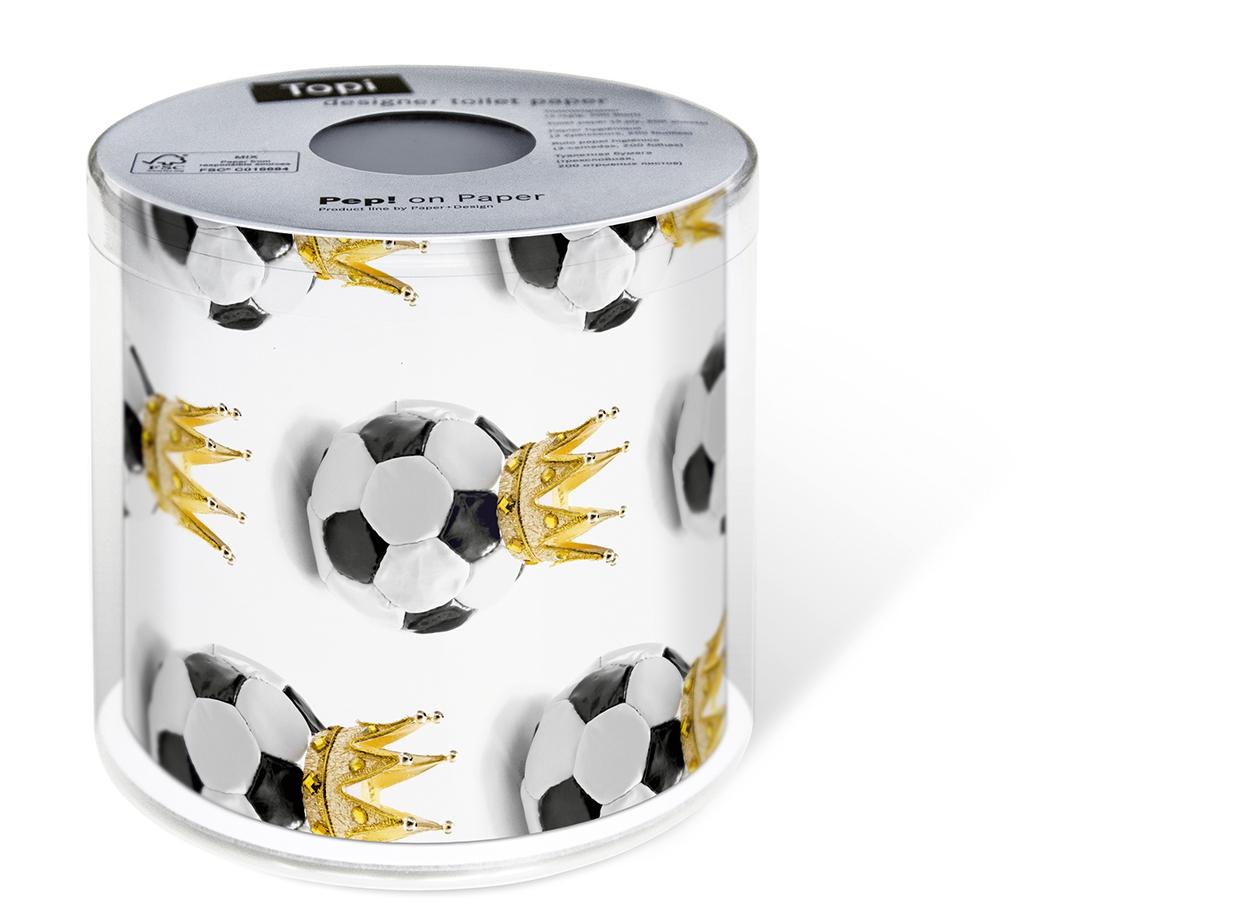 Toilettenpapier Soccer King,  Everyday,  bedrucktes Toilettenpapier