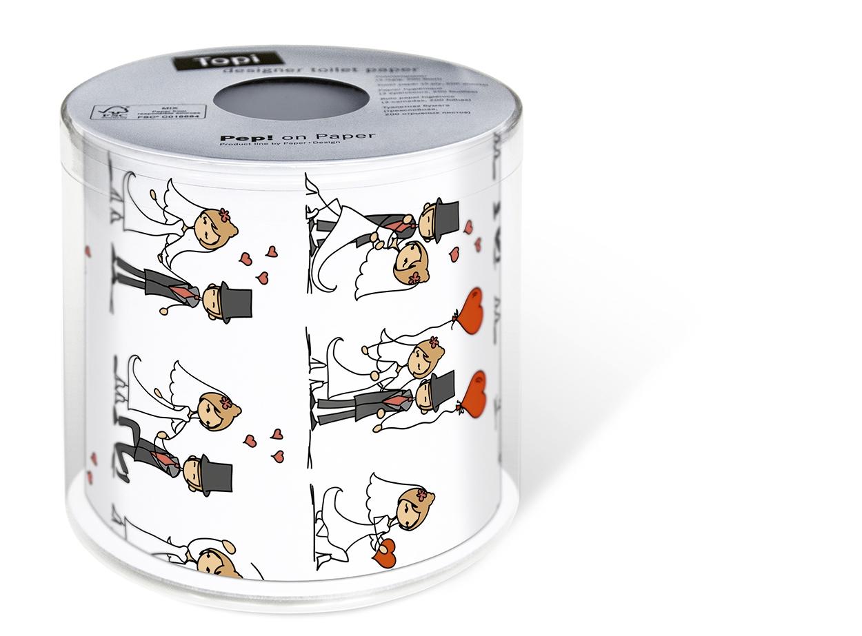 Toilettenpapier / Sonstiges,  Everyday,  Everyday,  bedrucktes Toilettenpapier,  Hochzeit