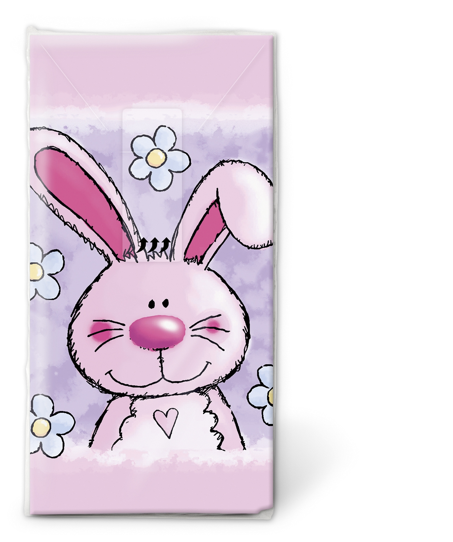 Taschentücher Wishes,  Tiere,  Ostern,  bedruckte papiertaschentücher