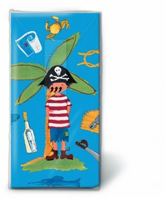 Taschentücher Little pirate,  Sonstiges,  Regionen - Strand / Meer,  Everyday,  bedruckte papiertaschentücher,  Piraten,  Flaschenpost