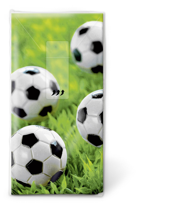 Taschentücher Go for goal,  Sport,  Everyday,  bedruckte papiertaschentücher,  Fussball