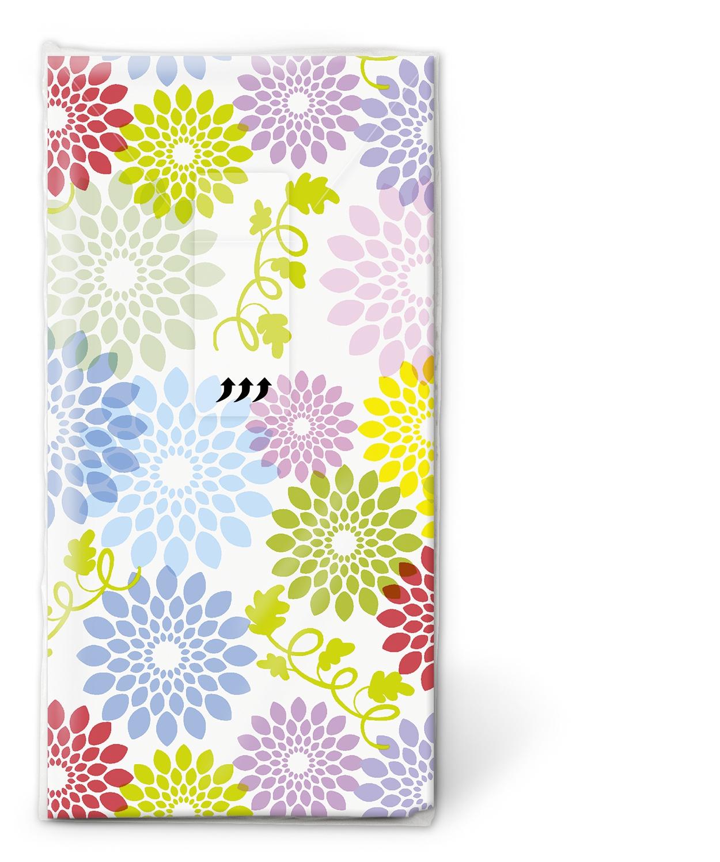 Taschentücher / Jahreszeiten,  Blumen,  Everyday,  bedruckte papiertaschentücher