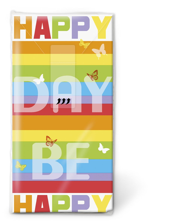 Taschentücher TT Colourful day,  Ereignisse,  Everyday,  bedruckte papiertaschentücher