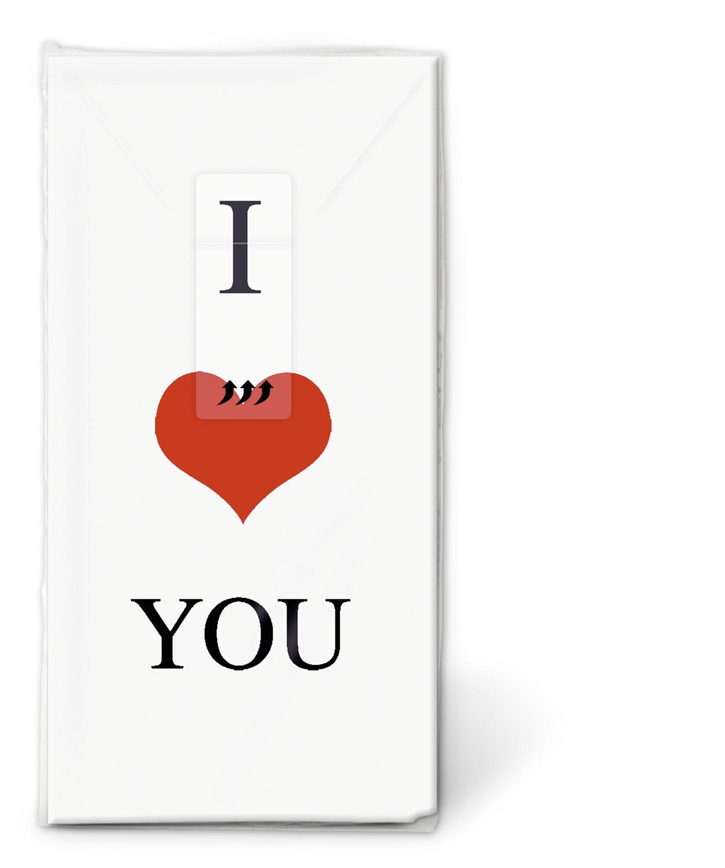 Taschentücher TT Love affair,  Ereignisse,  Everyday,  bedruckte papiertaschentücher