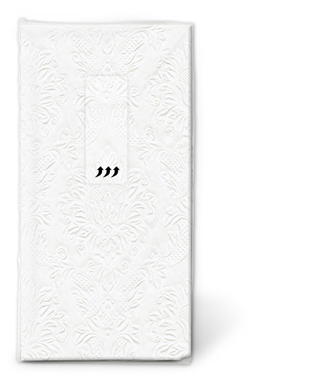 Taschentücher - Momente Ornament Perle