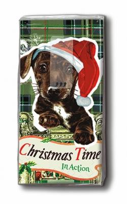 Taschentücher Gesamtübersicht,  Winter,  Weihnachten,  bedruckte papiertaschentücher,  Hunde