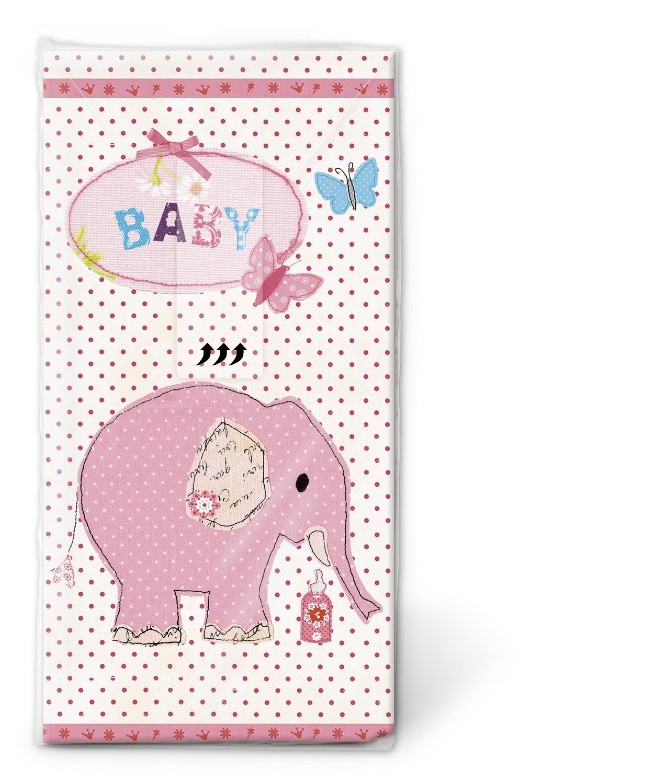 Taschentücher / Colourful Life,  Ereignisse,  Everyday,  bedruckte papiertaschentücher,  Geburt,  Baby,  Mädchen
