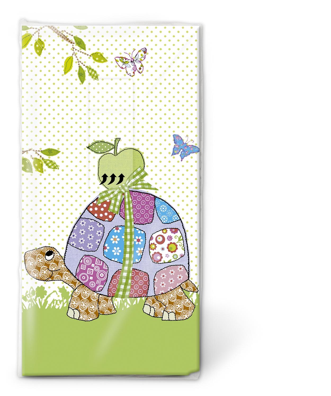 Paper+Design,  Tiere,  Everyday,  bedruckte papiertaschentücher,  Schildkröte,  Äpfel