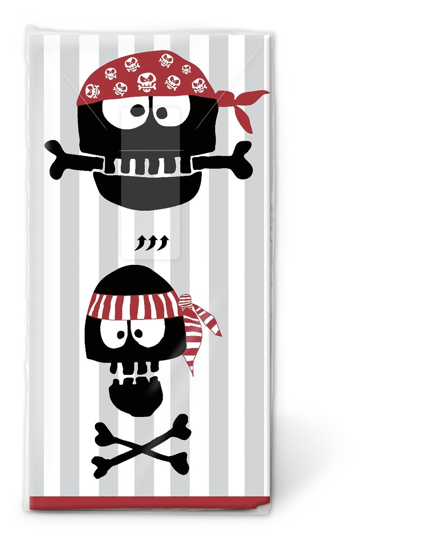 Taschentücher TT Pirates Ahoi,  Everyday,  bedruckte papiertaschentücher,  Piraten