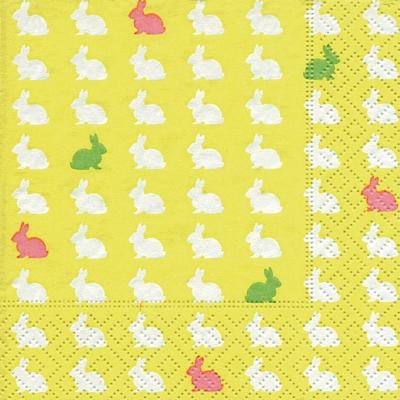 Motivservietten Gesamtübersicht,  Ostern - Hasen,  Ostern,  cocktail servietten,  Hasen