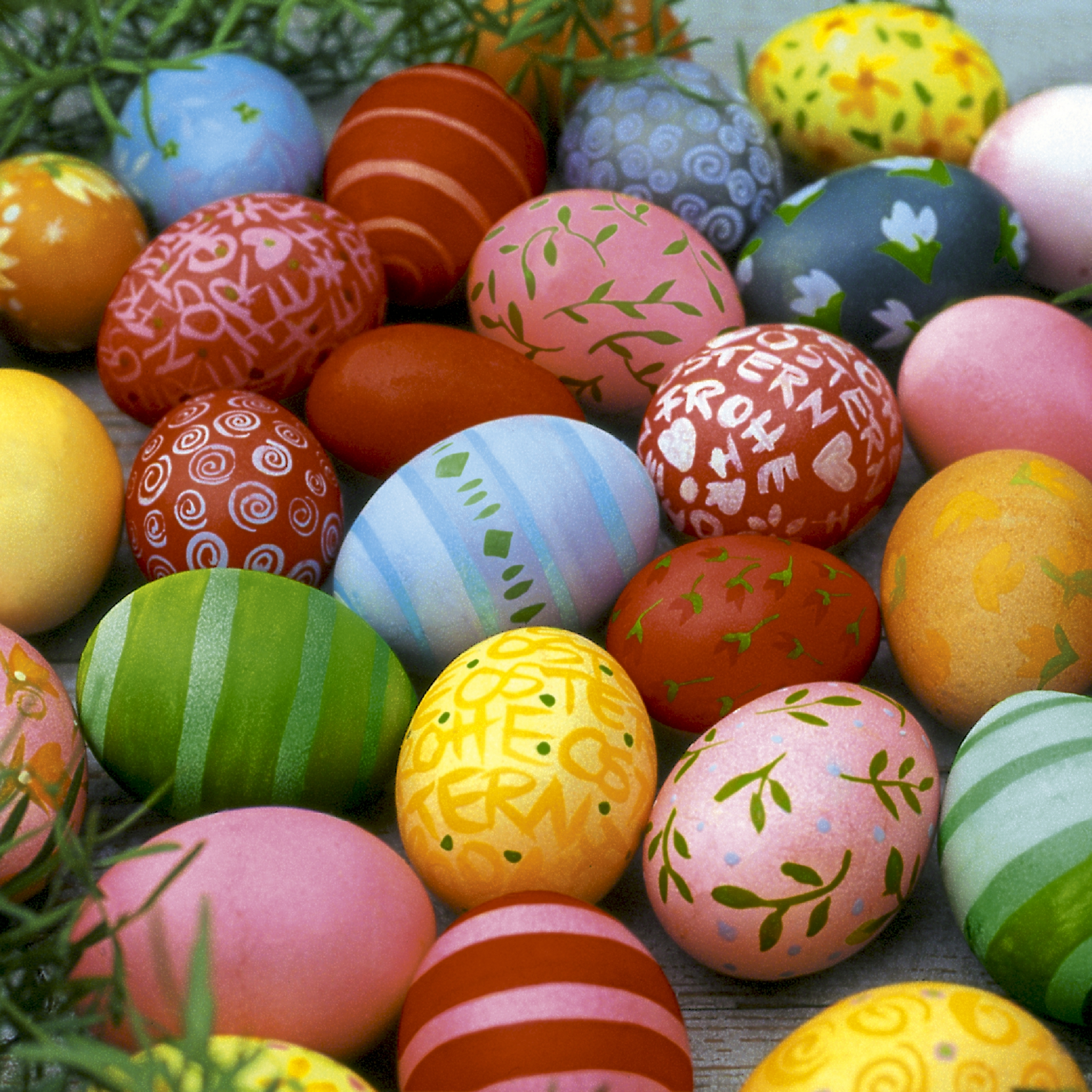 Cocktail Servietten Colourful eggs,  Ostern - Ostereier,  Ostern,  cocktail servietten,  Ostereier