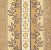20 Servietten - 25 x 25 cm Foliage ornament,  Sonstiges - Muster,  cocktail servietten