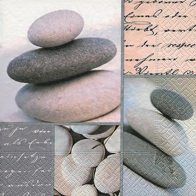 Lunch Servietten Piled stones,  Sonstiges -  Sonstiges,  Everyday,  lunchservietten,  Steine