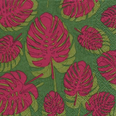 Servietten 33 x 33 cm,  Pflanzen -  Sonstige,  Everyday,  lunchservietten,  Blätter