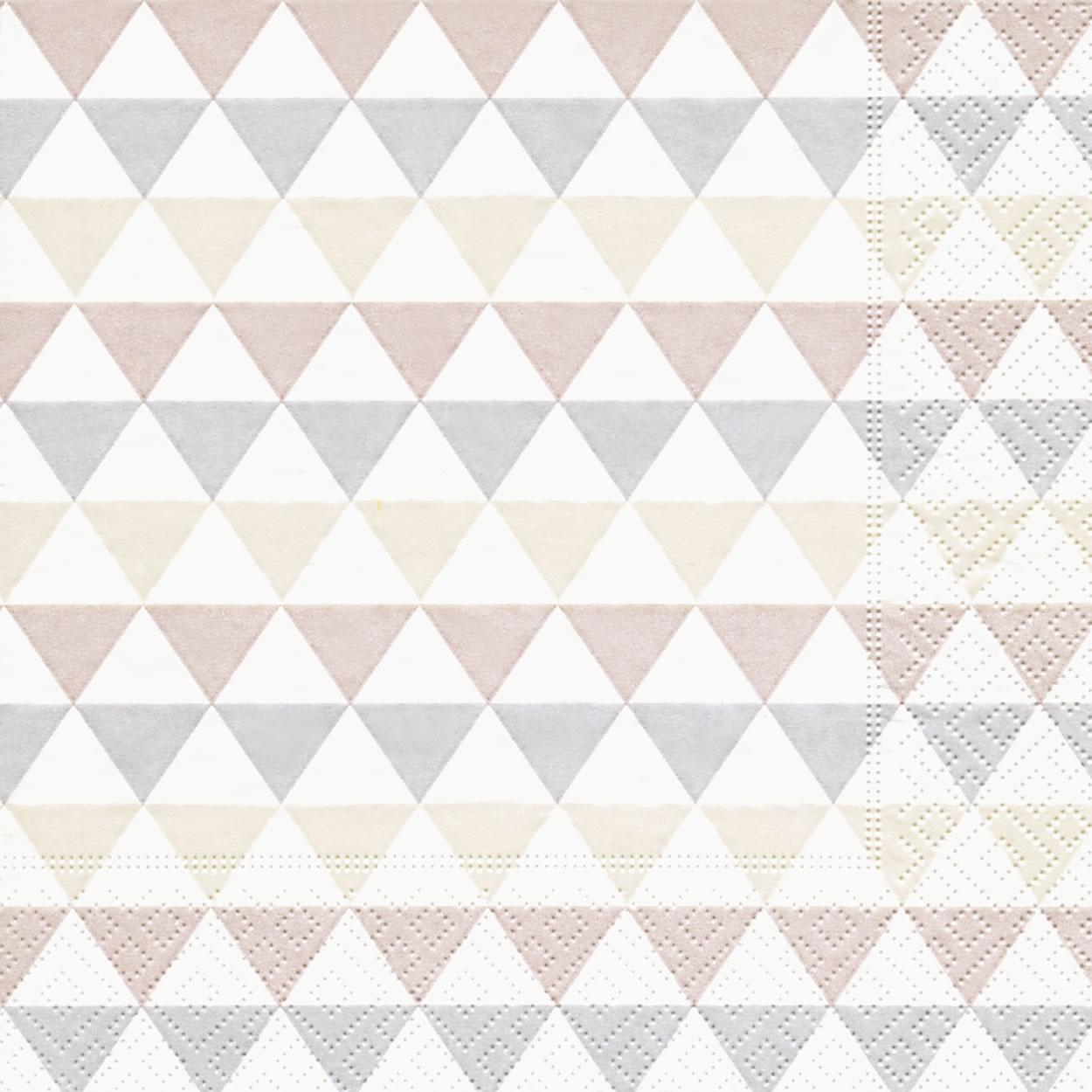 Lunch Servietten Triangle pattern,  Sonstiges - Muster,  Everyday,  lunchservietten