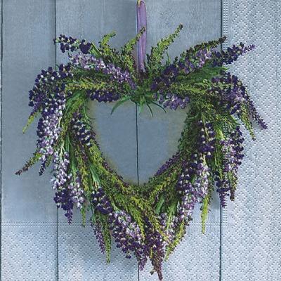 Servietten 33 x 33 cm,  Blumen - Lavendel,  Everyday,  lunchservietten,  Lavendel