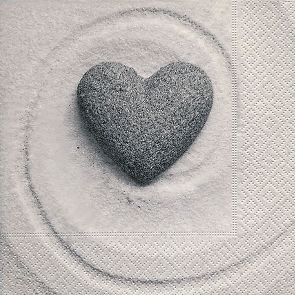 Servietten nach Jahreszeiten,  Ereignisse - Liebe,  Everyday,  lunchservietten,  Herzen