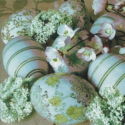 Paper+Design,  Blumen -  Sonstige,  Everyday,  lunchservietten,  Ostereier,  Blumen,  Muster