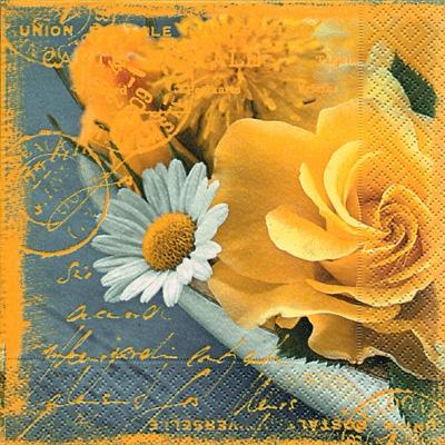 Everyday,  Blumen -  Sonstige,  Blumen - Rosen,  Everyday,  lunchservietten,  Rosen,  Schriften,  Blumen