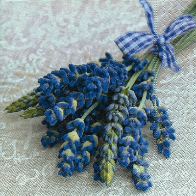 Lunch Servietten Provence,  Blumen - Lavendel,  Everyday,  lunchservietten,  Lavendel