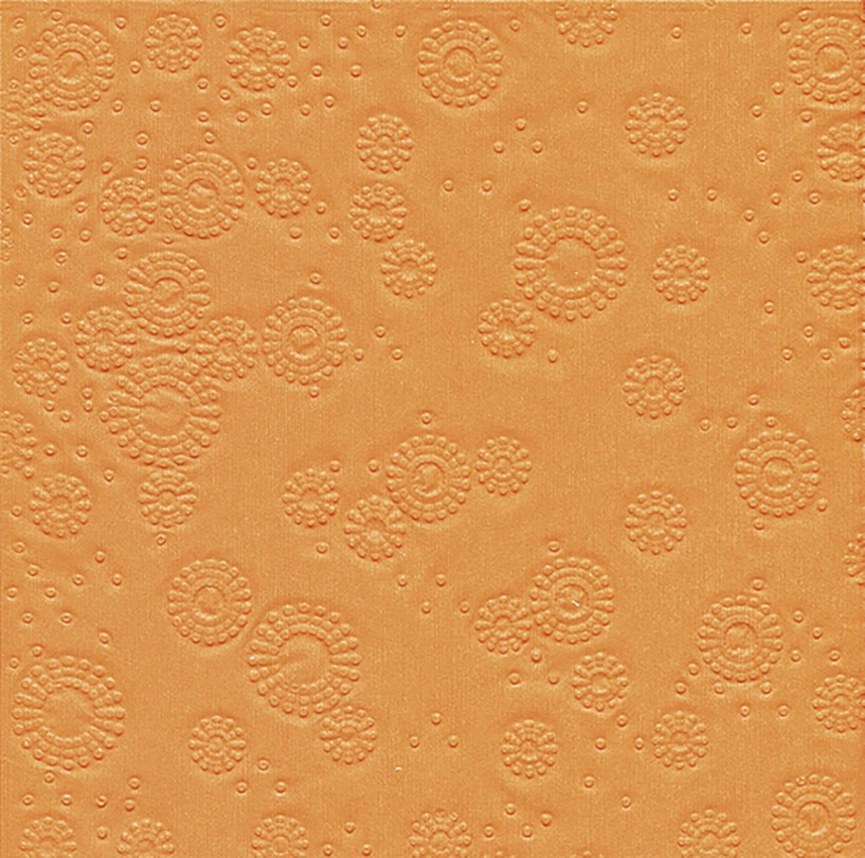 Lunch Servietten Moments Uni orange - geprägt,   geprägte Servietten,   geprägte Servietten,  Everyday,  lunchservietten