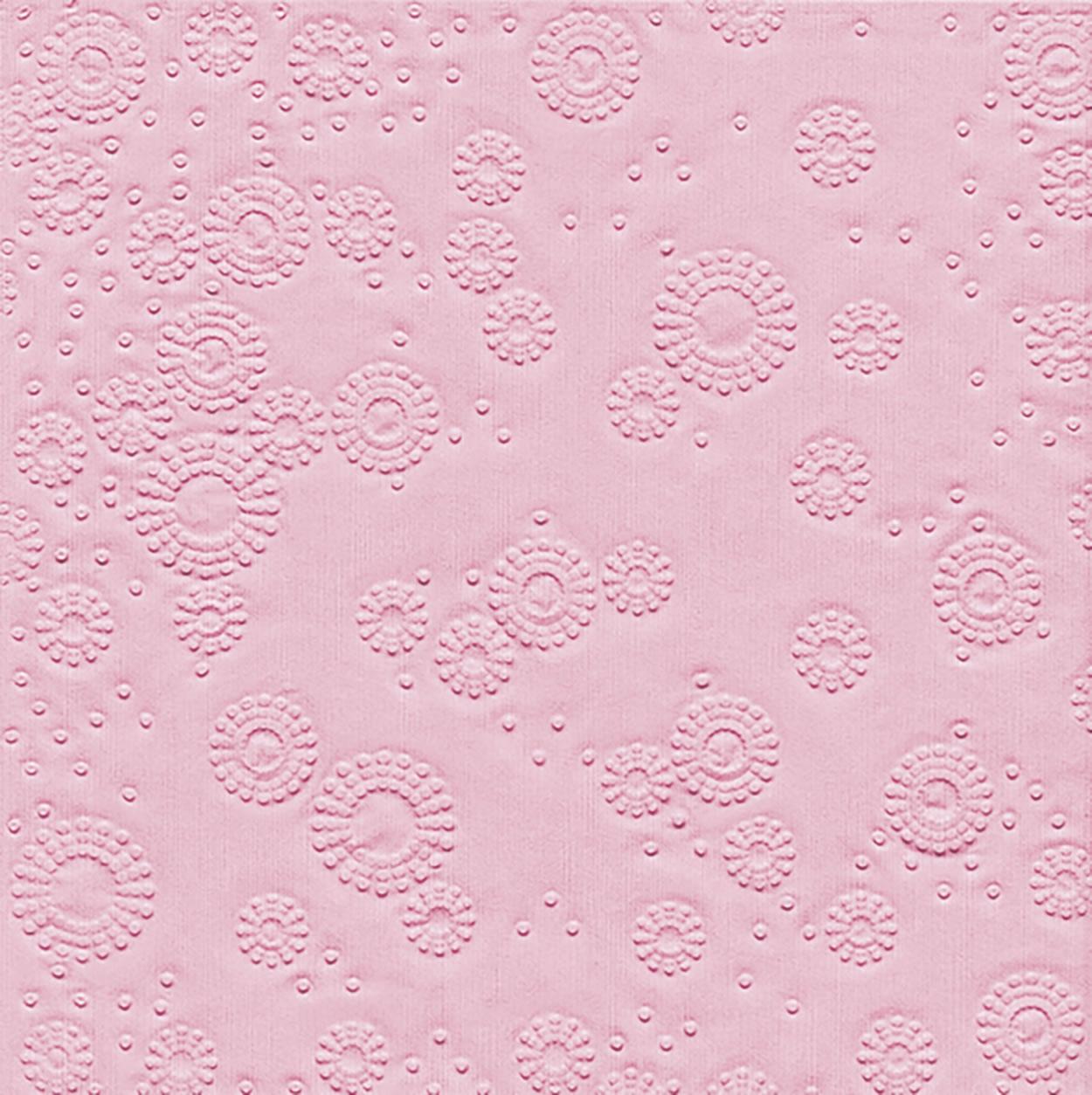 Lunch Servietten Moments Uni rosé - geprägt,   geprägte Servietten,   geprägte Servietten,  Everyday,  lunchservietten