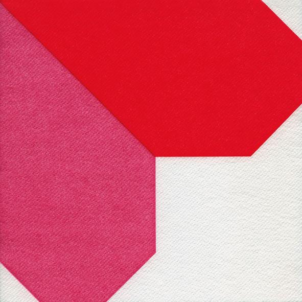 Dinner Servietten Origami Serviette Heart red/pink, dinnerservietten,  Herzen