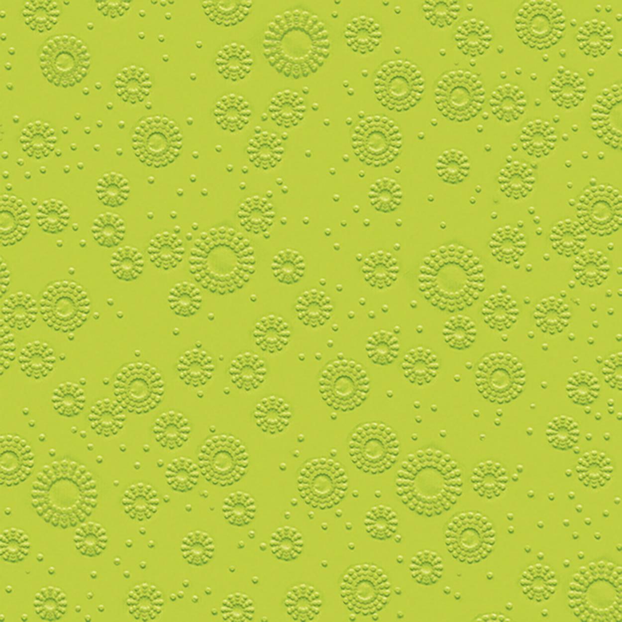 Dinner Servietten Moments - uni kiwi, dinnerservietten,  grün