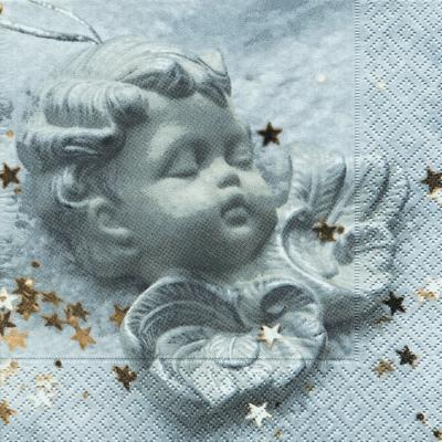20 Servietten - 33 x 33 cm Peaceful angel,  Weihnachten,  Weihnachten,  lunchservietten