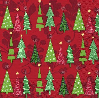 Paper+Design,  Weihnachten - Weihnachtsbaum,  Weihnachten,  lunchservietten,  Weihnachtsbaum
