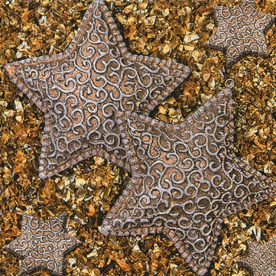 Lunch Servietten Stars on glitter,  Weihnachten - Sterne,  Weihnachten,  lunchservietten,  Sterne