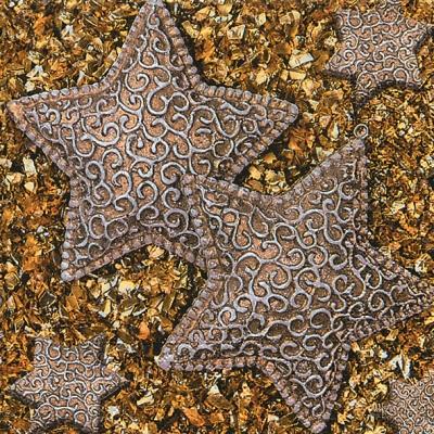 Lunch Servietten Stars on glitter