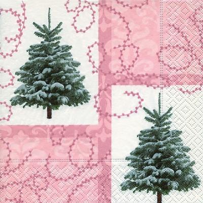 Lunch Servietten Hidden Christmas trees,  Weihnachten - Weihnachtsbaum,  Weihnachten,  lunchservietten,  Baum,  Weihnachtsbaum