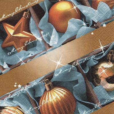 Paper+Design,  Weihnachten - Baumschmuck,  Weihnachten,  lunchservietten,  Kugeln,  Sterne