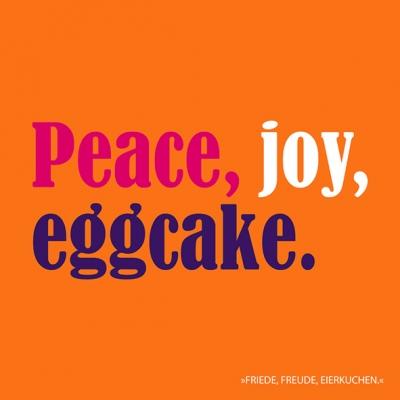 Lunch Servietten Eggcake