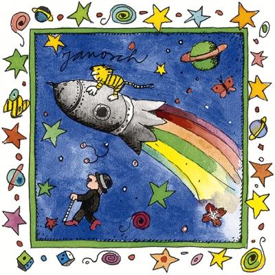 Artablo ,  Everyday,  lunchservietten,  Sterne,  Raketen