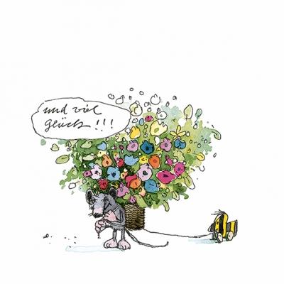 Servietten / Sonstige Blumen,  Blumen -  Sonstige,  Everyday,  lunchservietten,  Schriften,  Tiger,  Blumen