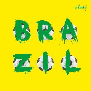 Lunch Servietten Balls of Brazil