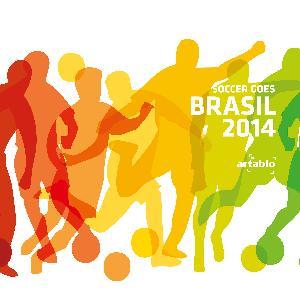 Lunch Servietten Soccer Moves,  Sport - Fußball,  lunchservietten,  Fußball,  WM,  Brasilien