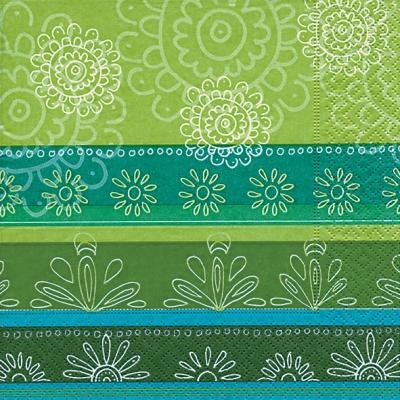 20 Servietten - 33 x 33 cm ,  Sonstiges - Muster,  Blumen -  Sonstige,  Everyday,  lunchservietten