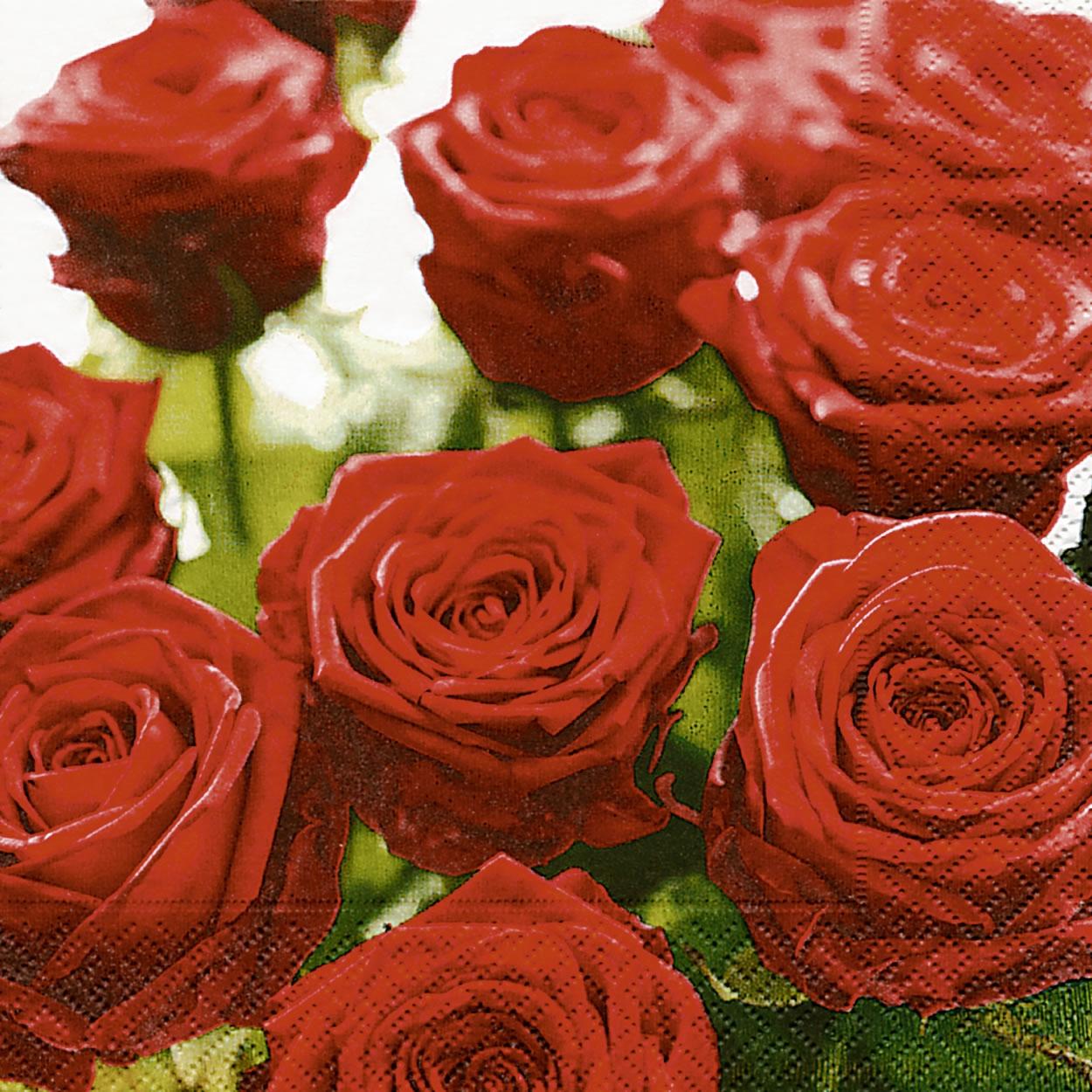 Servietten / Sonstige Blumen,  Blumen -  Sonstige,  Blumen - Rosen,  Blumen,  Everyday,  lunchservietten
