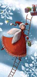 Taschentücher TT christmas elf,  Winter,  bedruckte papiertaschentücher
