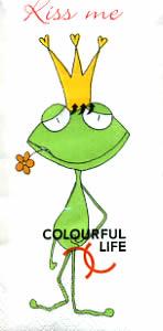 Taschentücher TT frog prince