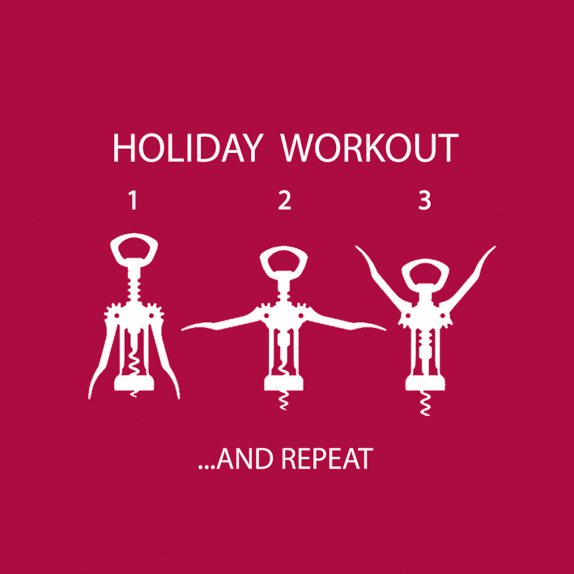 Cocktail Servietten Wine Lovers Workout 25x25 cm,   geprägte Servietten,  Getränke -  Sonstige,  Everyday,  cocktail servietten,  Schriften,  Getränke