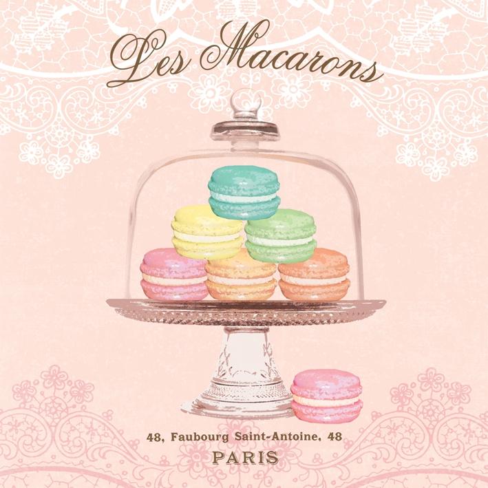 Paperproducts Design,  Essen - Kuchen / Keks,  Everyday,  lunchservietten,  Kuchen,  Macarons