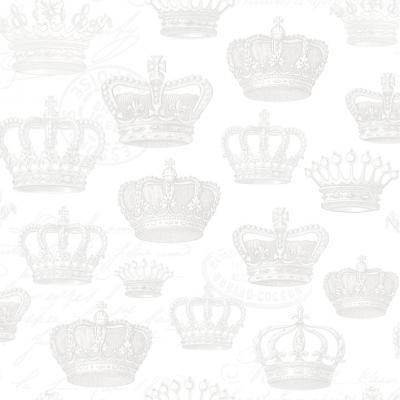 Servietten 33 x 33 cm,   geprägte Servietten,  Everyday,  lunchservietten,  Krone
