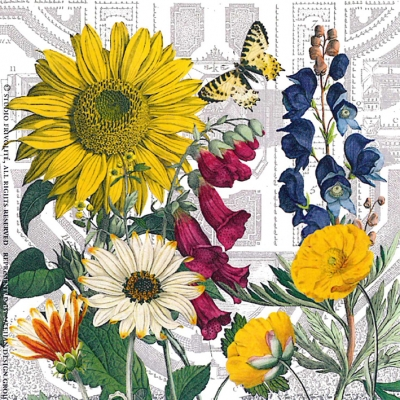Paperproducts Design,  Blumen -  Sonstige,  Everyday,  lunchservietten,  Blumen