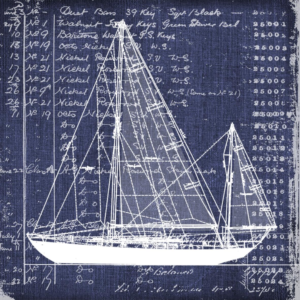 Lunch Servietten Nautica Cutter