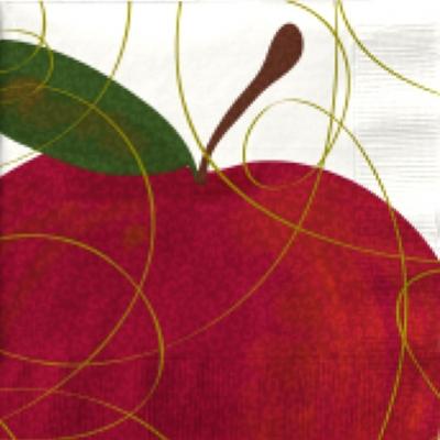 Servietten / Früchte,  Früchte - Äpfel,  Herbst,  lunchservietten,  Äpfel