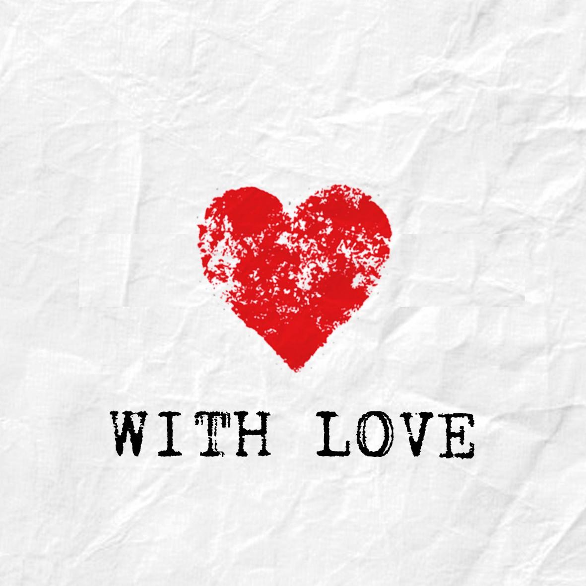 Lunch Servietten With Love,  Ereignisse - Liebe,  Everyday,  lunchservietten,  Herzen
